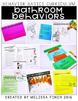 Bathroom Behaviors- Behavior Basics Program for Special Education