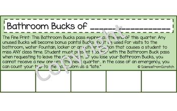 Bathroom Bucks