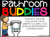 Bathroom Buddies {Sorting Activity, Posters & Reminders for Bathroom Rules}