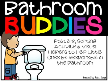 Bathroom Buddies {Sorting Activity, Posters & Reminders ...