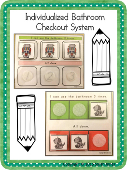 Individualized Bathroom Check-Out System