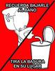 Bathroom ESL Posters