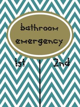 Bathroom Emergency!