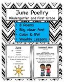 June Poetry Kindergarten & First Grade