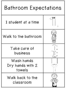 Bathroom Expectations FREEBIE
