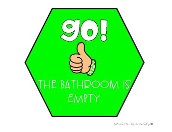 Bathroom Expectations Posters