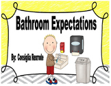 Bathroom Expectations,Rules,Reminders (Visuals to support PBIS)
