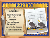 Bathroom & Hallway Rules Poster Set-Large