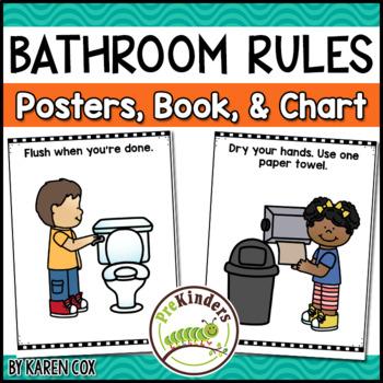 Bathroom Hygiene Posters