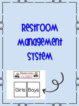 Bathroom Management System