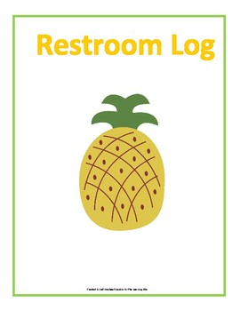 Bathroom Management with a Pineapple Theme