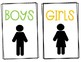 Bathroom Management System:Poster & Passes