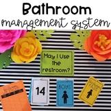 Bathroom Management System:Poster & Passes*includes gender