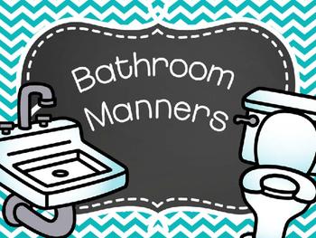 Bathroom Manners Book & Sort