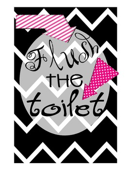 Bathroom Manners Posters