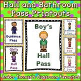 Hall and Bathroom Pass Printouts