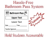 Bathroom Pass