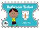 Bathroom Pass Tickets