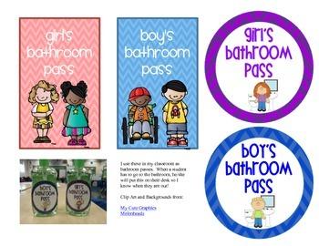 Bathroom Passes