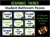 Bathroom Passes - Seahawk Themed