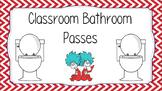 Bathroom Passes Sign