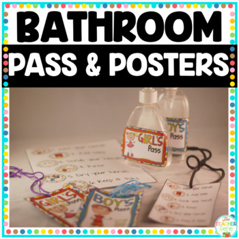 Bathroom Passes and Hygiene Posters