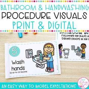 Bathroom Procedure Visuals