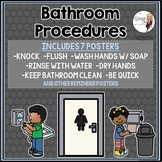 Bathroom Procedures Posters