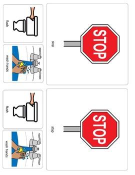 Bathroom Reminder - Flush & Wash Your Hands
