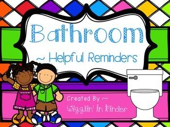 Bathroom Reminders