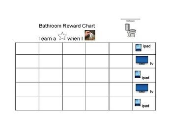 Bathroom Reward Chart