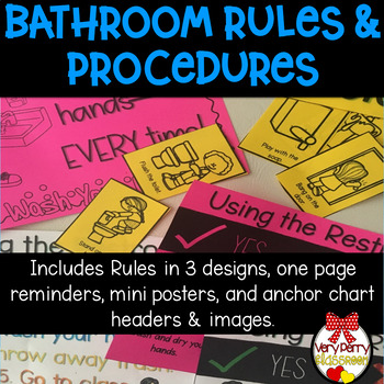 Bathroom Rules and Procedures