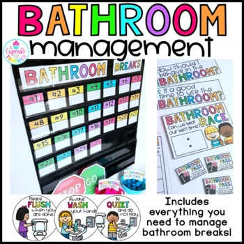Bathroom Rules & Management Kit (EVERYTHING You Need!)