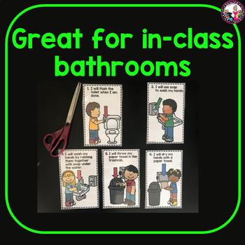 Bathroom Rules-Mini Posters!