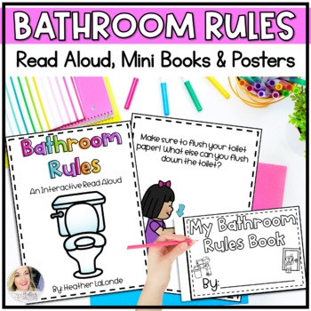Bathroom Reminder Posters Worksheets Teachers Pay Teachers