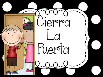 Bathroom Rules for Classroom in Spanish