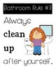 Bathroom Rules for Students
