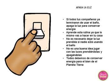 Spanish Bathroom Rules