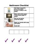 Bathroom Self-Monitoring Checklist