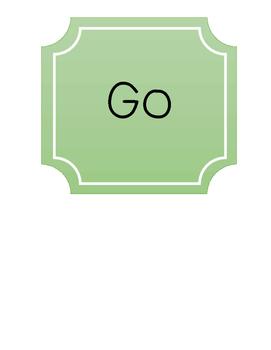 Bathroom Sign (Stop / Go)