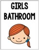Bathroom Signs (Reminders for the Bathroom)