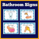 Bathroom Signs   Preschool Kindergarten 1st  Grade   Healt
