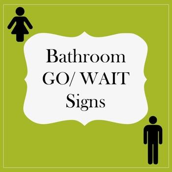 Bathroom Signs for Classroom