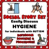 Bathroom Social Story & Posters for Bathroom & Hygiene Lif