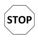 Bathroom Stop Sign