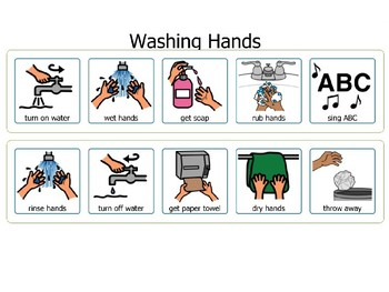 Bathroom Task Cards