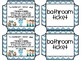 Bathroom Tickets with Appropriate Times