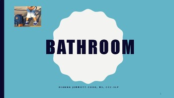 Bathroom Time- A Social Story with REAL pictures