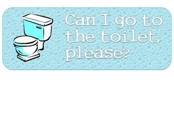 Bathroom/Toilet sign