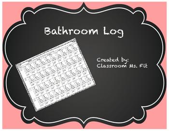 Bathroom Use Log